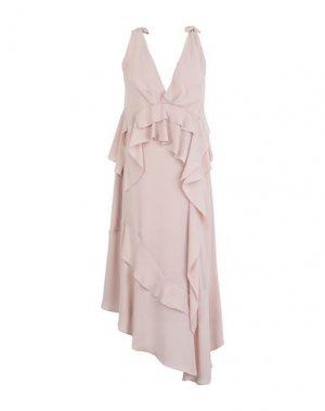 Платье длиной 3/4 HANITA. Цвет: телесный