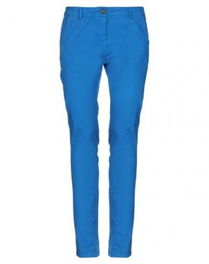 Повседневные брюки REFRIGUE. Цвет: ярко-синий