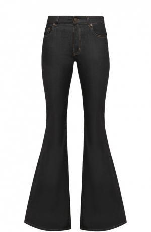 Расклешенные джинсы с контрастной прострочкой Tom Ford. Цвет: синий