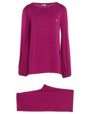 Пижама BLUMARINE. Цвет: фиолетовый