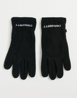 Черные перчатки Beaumont-Черный цвет Carhartt WIP