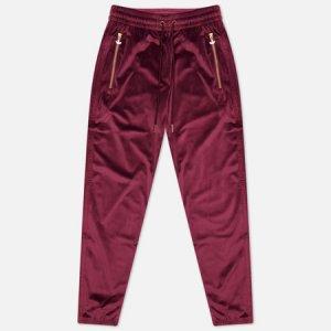 Мужские брюки Contempo Veloure Cuffed adidas Originals. Цвет: бордовый
