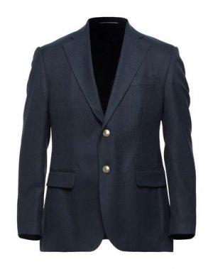 Пиджак ANDREA BARBERI. Цвет: темно-синий
