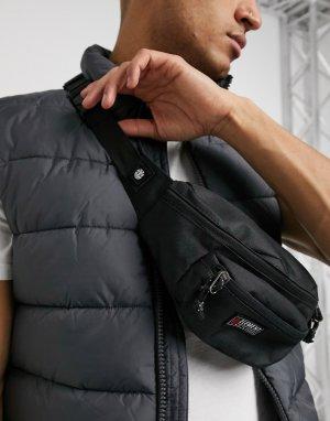 Черная сумка-кошелек на пояс Posse-Черный Element