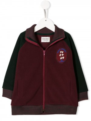 Куртка с вышитым логотипом Bobo Choses. Цвет: фиолетовый