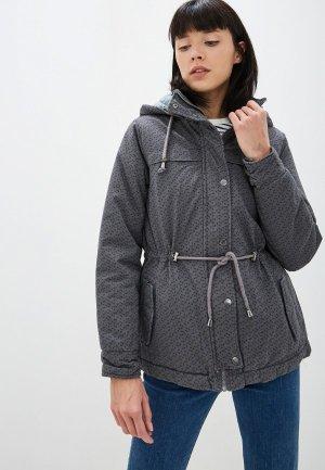 Куртка утепленная Fresh Made. Цвет: серый