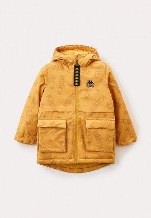 Куртка утепленная Kappa. Цвет: оранжевый