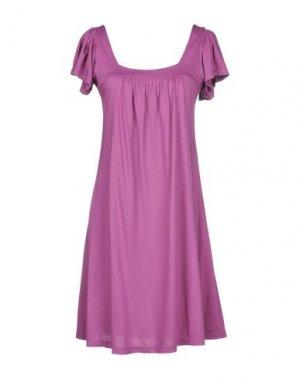 Короткое платье MICHAEL STARS. Цвет: розовато-лиловый