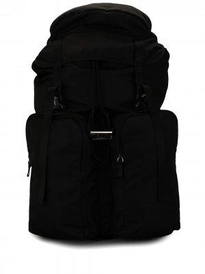 Спортивный рюкзак Prada Pre-Owned. Цвет: черный