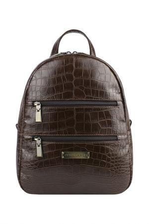 Рюкзак женский Constanta. Цвет: коричневый