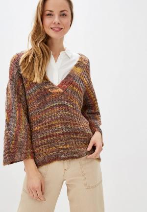 Пуловер Vila. Цвет: разноцветный