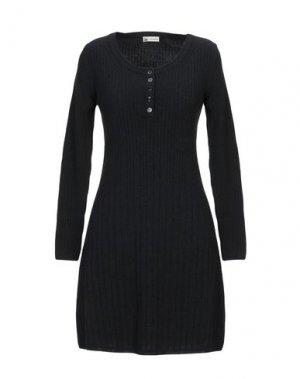 Короткое платье COLOMBO. Цвет: черный