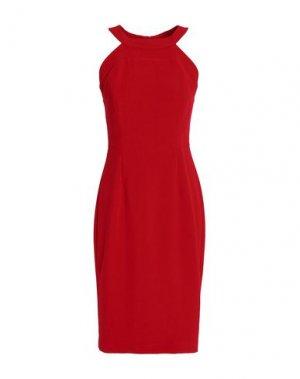 Платье до колена BLACK HALO. Цвет: красный
