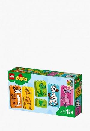 Конструктор LEGO DUPLO 10885 Мой первый паззл. Цвет: разноцветный