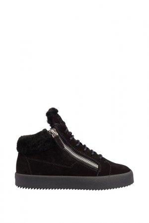 Кроссовки Giuseppe Zanotti. Цвет: черный