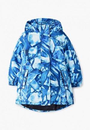Куртка утепленная Button Blue. Цвет: голубой