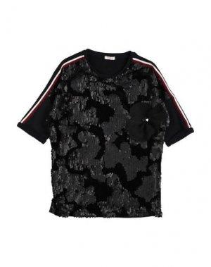 Платье FRACOMINA MINI. Цвет: черный