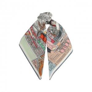 Шелковый платок Libro Radical Chic. Цвет: разноцветный
