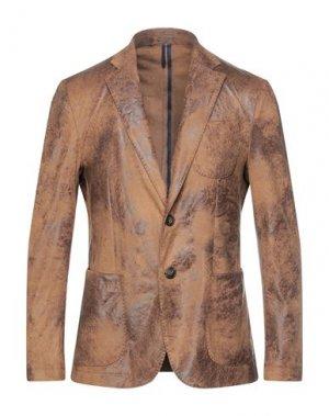 Пиджак DOMENICO TAGLIENTE. Цвет: верблюжий