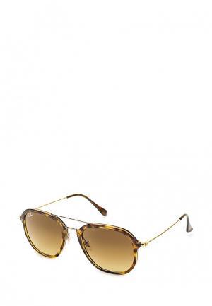 Очки солнцезащитные Ray-Ban® RB4273 710/85. Цвет: коричневый