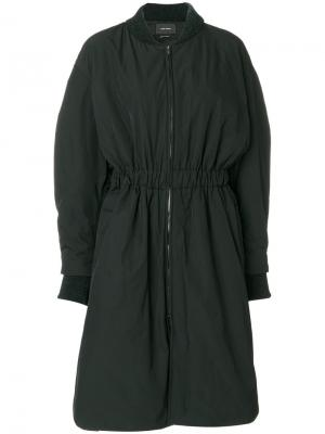Пальто-бомбер Deimos Isabel Marant. Цвет: чёрный