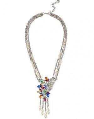 Ожерелье BEN-AMUN. Цвет: оранжевый