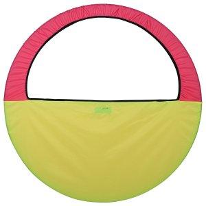 Чехол для обруча (сумка) 60-90 см, цвет жёлтый/розовый Grace Dance