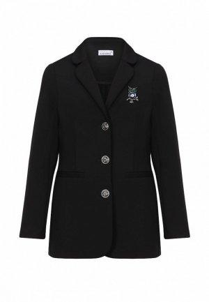 Пиджак Stylish Amadeo. Цвет: черный