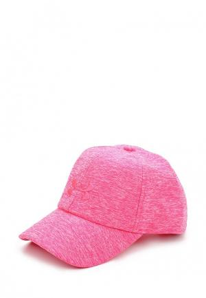 Бейсболка Under Armour Girls Twisted Cap. Цвет: розовый