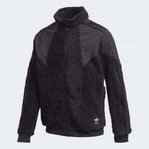 Флисовая олимпийка Originals adidas. Цвет: черный