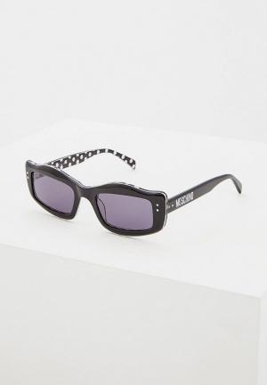 Очки солнцезащитные Moschino MOS029/S TAY. Цвет: черный