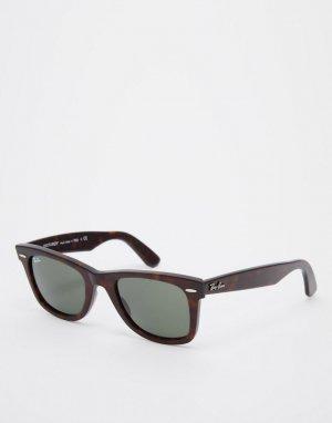 Классические солнцезащитные очки 0RB2140 Original Wayfarer-Коричневый цвет Ray-Ban