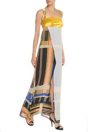 Платье Gaetano Navarra. Цвет: цветной