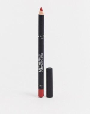 Стойкий карандаш для губ Rimmel London