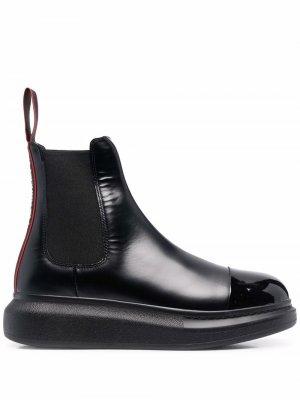 Ботинки челси Hybrid Alexander McQueen. Цвет: черный