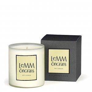 Декоративная ароматическая свеча «Лемонграсс» Home Lemongrass Candle 400 г Archipelago Botanicals