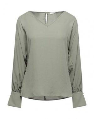 Блузка FRACOMINA. Цвет: зеленый-милитари