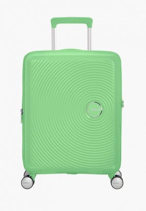 Чемодан American Tourister SOUNDBOX. Цвет: зеленый