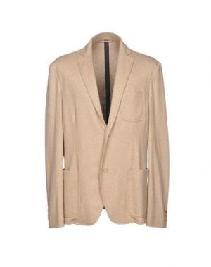 Пиджак COLOMBO. Цвет: бежевый