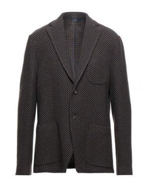 Пиджак JOHN BARRITT. Цвет: темно-коричневый