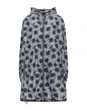 Легкое пальто DUVETICA. Цвет: темно-синий