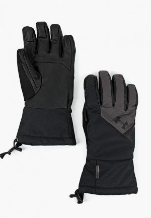 Перчатки Under Armour Mens Entry Level MTN Glove. Цвет: черный