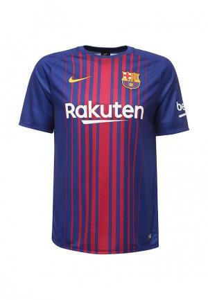 Футболка спортивная Nike NI464EMUGT23. Цвет: синий