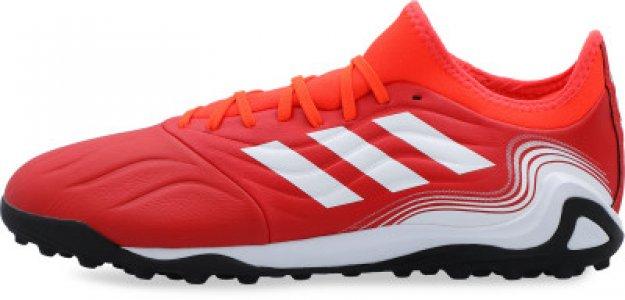 Бутсы мужские adidas Copa Sense.3 TF, размер 40. Цвет: красный