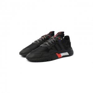 Кроссовки Nite Jogger adidas Originals. Цвет: чёрный