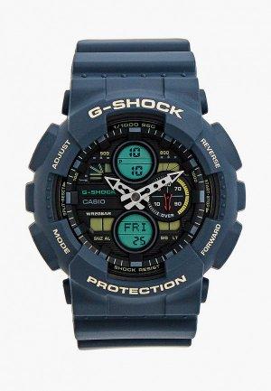 Часы Casio G-SHOCK GA-140-2AER. Цвет: синий