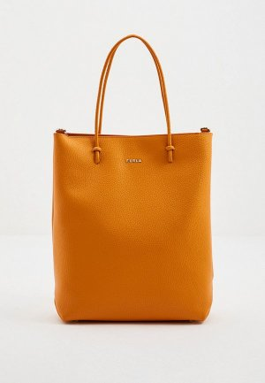 Сумка Furla ESSENTIAL M TOTE N/S. Цвет: оранжевый