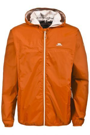 Ветровка Trespass. Цвет: оранжевый