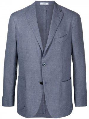 Легкий пиджак Boglioli. Цвет: синий