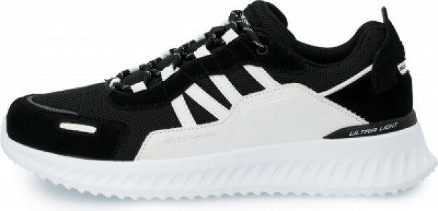 Кроссовки мужские Matera 2.0, размер 43 Skechers. Цвет: черный